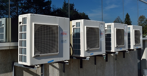 Air conditioner cooling units