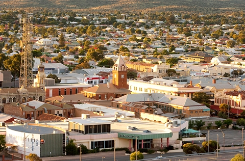 The city of Broken Hill