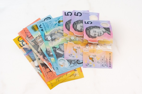 various Australian currency
